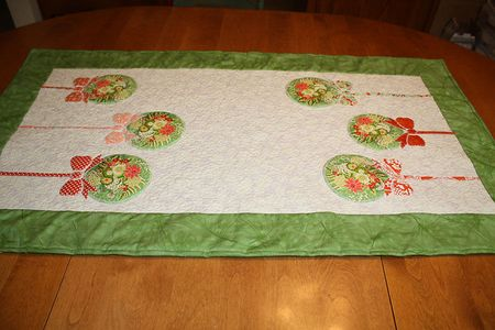 Better Than Mistletoe Table Runner-17
