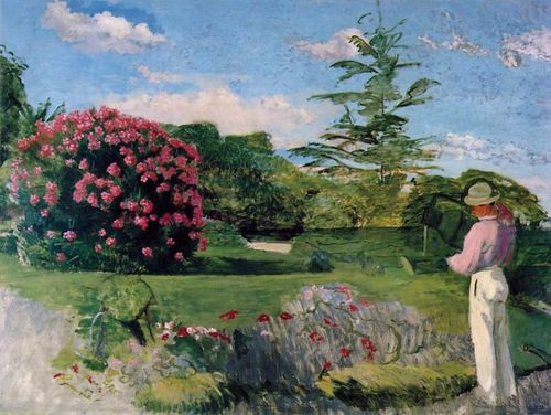 797px-Bazille,_Frédéric_~_Le_Petit_Jardinier_(The_Little_Gardener),_c1866-67_oil_on_canvas_Museum_of_Fine_Arts,_Houston
