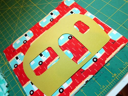 RV pin cushion template