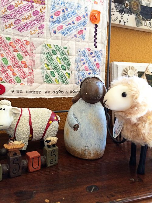 Sallys angelworks sheep