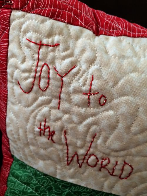 Joy embroidery