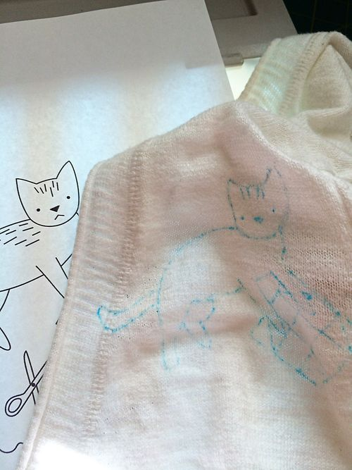 Crafty Cat embroidered sweater 3
