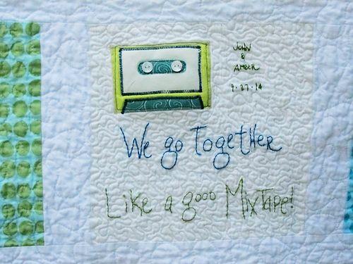 Mixtape quilt 12
