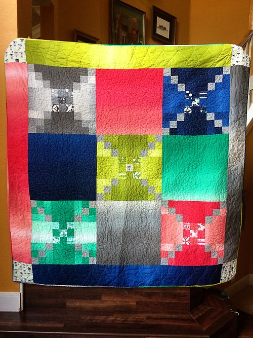Color theory quilt 5