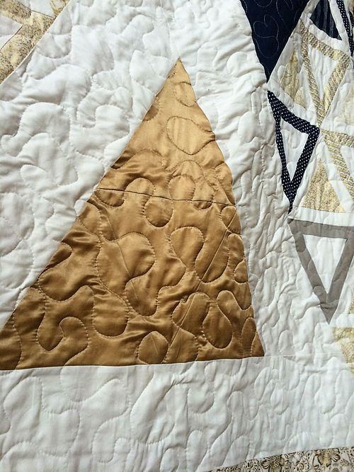 Acute wedding triangle quilt 6