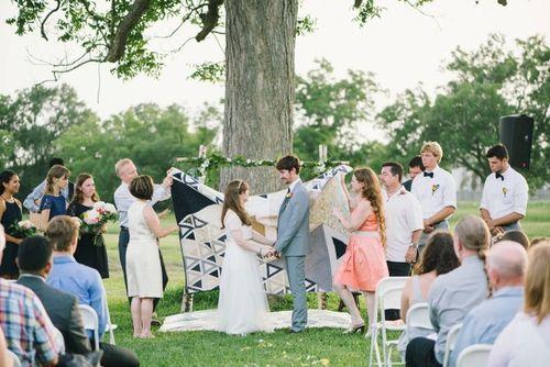 Weddingquiltwrapping