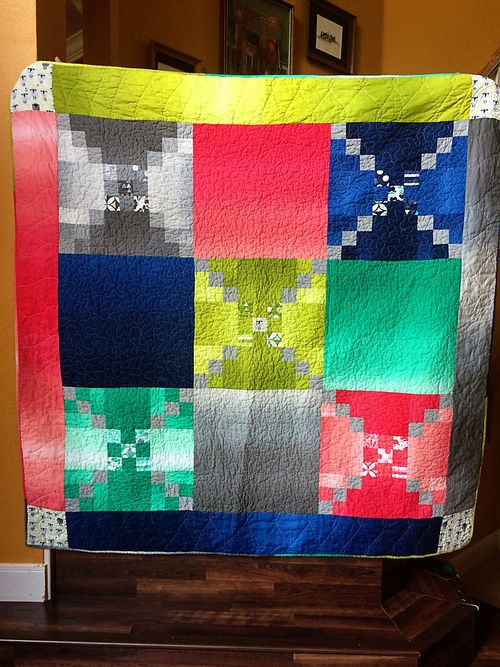 Color theory quilt 6