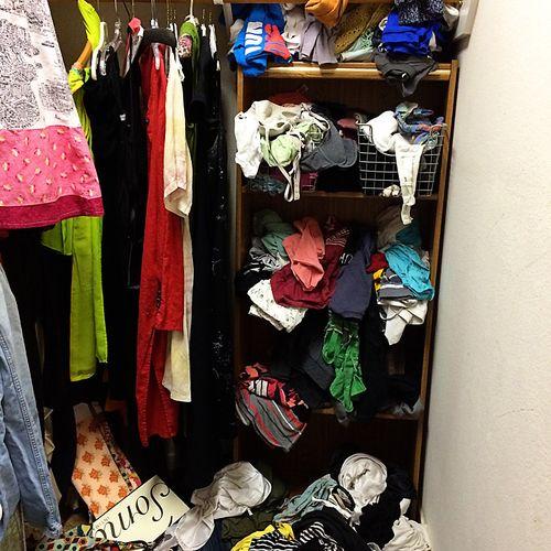 Closet project 1