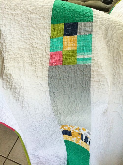Color theory quilt 14