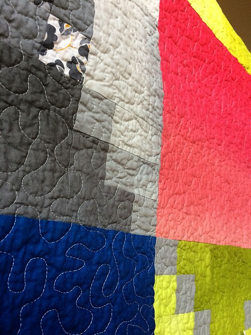 Color theory quilt 11
