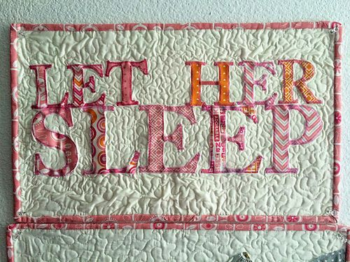 Let her sleep triptych 2