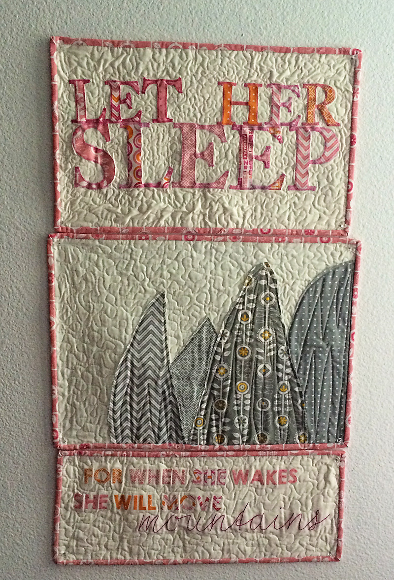 Let her sleep triptych 1